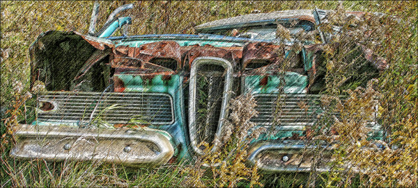 'The 1958 Edsel: Lousy Car But a Great Planter,' by Bill Barber on Flickr
