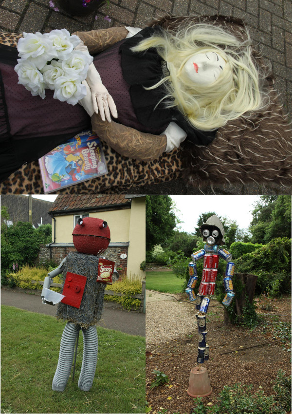 Entries from All Saints Fornham Scarecrow Festival, 2013 (by Dave Catchpole, on Flickr)