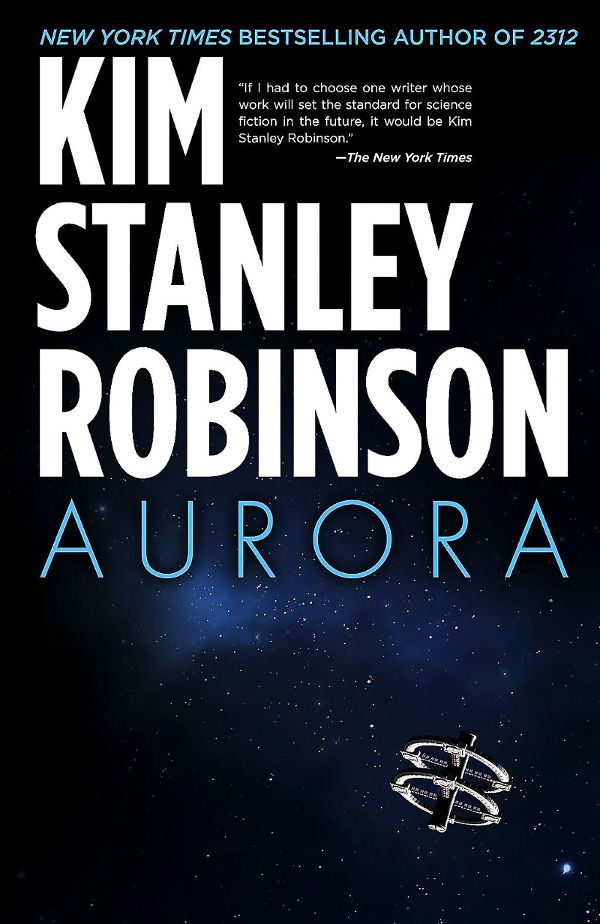 Book cover: 'Aurora,' by Kim Stanley Robinson