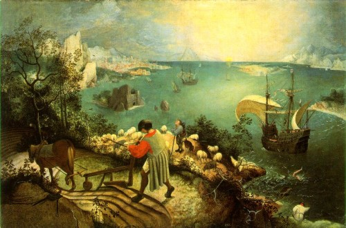 Bruegel: Landscape with the Fall of Icarus