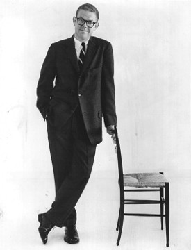 Stan Freberg (with chair)