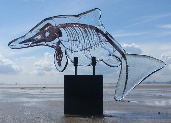 'Glass Ichthyosaur,' by Amanda Heath