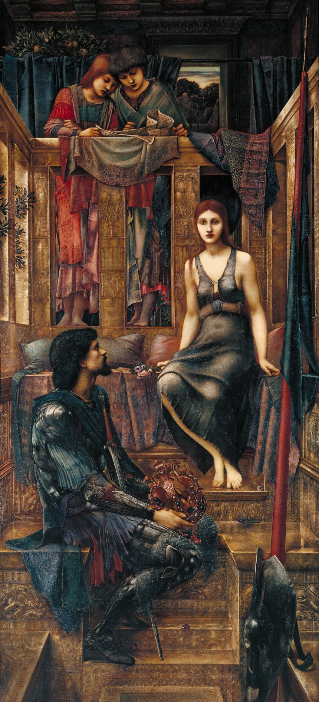 'King Cophetua and the Beggar Maid,' by Edward Burne-Jones