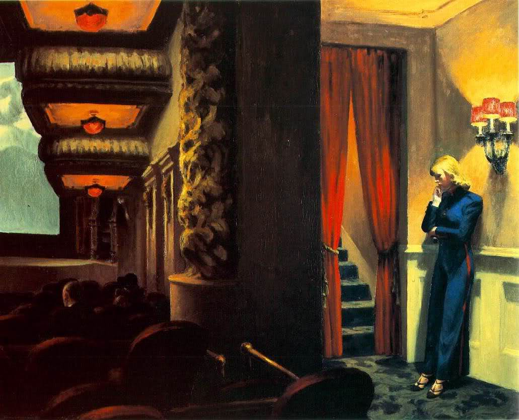 Image: 'New York Movie,' by Edward Hopper