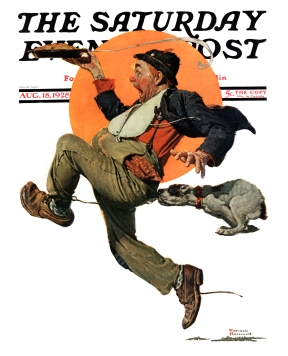 'Saturday Evening Post' cover by Norman Rockwell (August 18, 1928)
