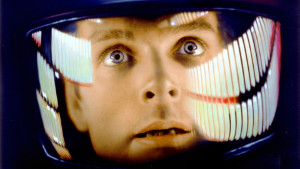 Keir Dullea, in '2001: A Space Odyssey'
