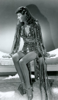 Publicity still: Barbara Stanwyck in 'Ball of Fire'