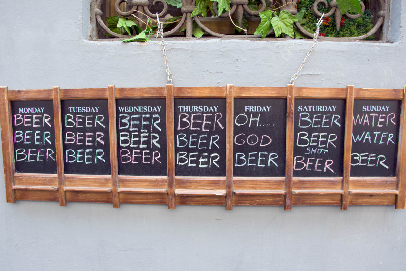 Image: 'Beer Beer Beer - everyday Beer,' by user Marco Verch on Flickr