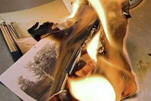 'Burning Memories' c2006 by Gerla Brakkee (sxc.hu)