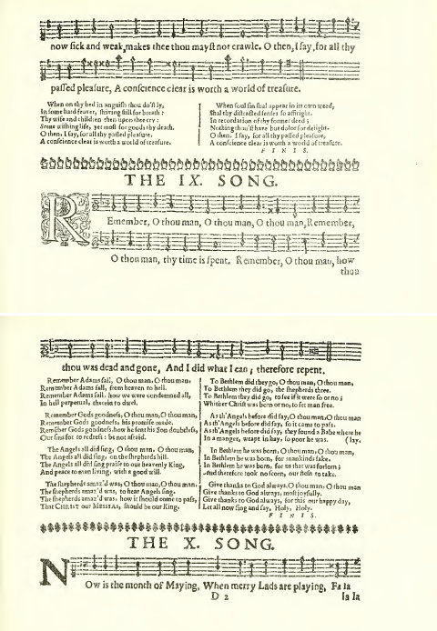 John Forbes, Cantus: 'The IX. Song'