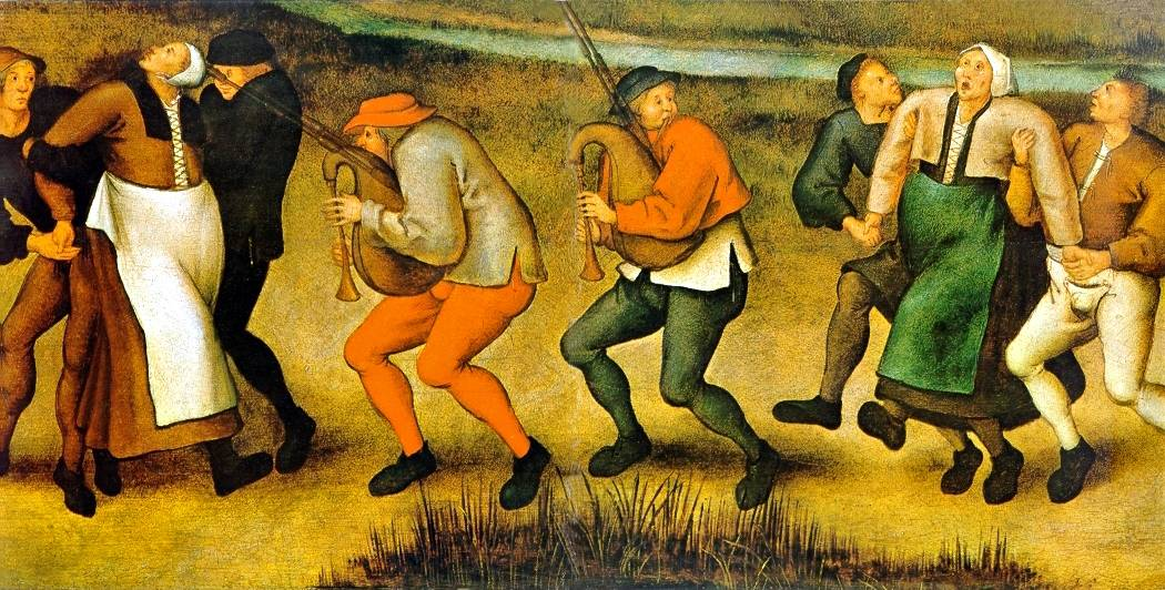 'Dance at Molenbeek,' by Pieter Brueghel the Younger