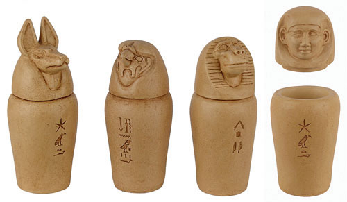canopic jar coloring pages - losing our heads over modest gods