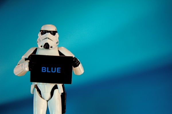 'Imperial Art Appreciation: Blue,' by JD Hancock on Flickr