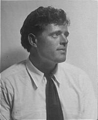 Jack London, by Arnold Genthe (taken 1906-1916)