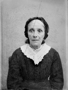 Probably Mrs. John Coleman, from 'Wisconsin Death Trip'