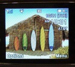 AT&T Pantech Matrix phone (click for original)
