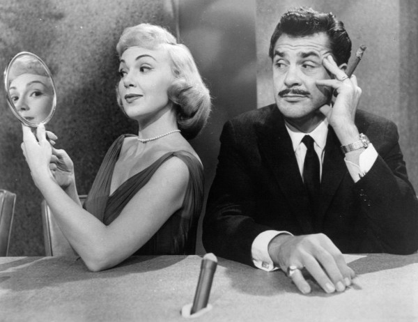 Edie Adams and Ernie Kovacs, in a publicity still for Kovacs's show 'Take a Good Look'