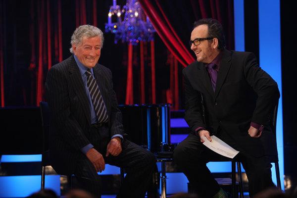 Tony Bennett with Elvis Costello