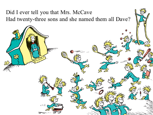 Illustration from 'The Sneetches and Other Stories,' by Dr. Seuss (Theodore Geisel)