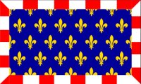 Flag of former French province of Touraine