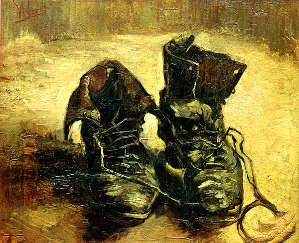 Vincent Van Gogh: 'A Pair of Shoes' (1886)