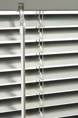 Venetian blinds w/wand control