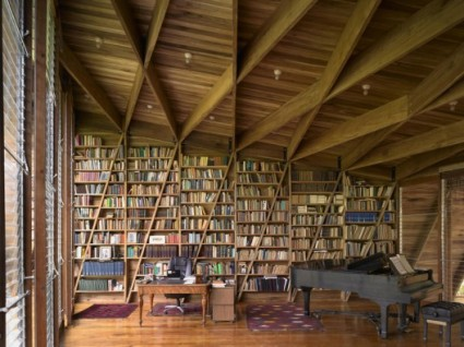 Wall of books - Gianni Botsford Architects