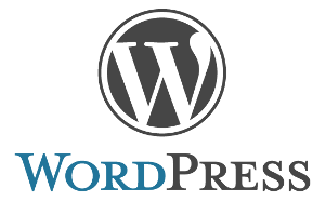 A WordPress logo
